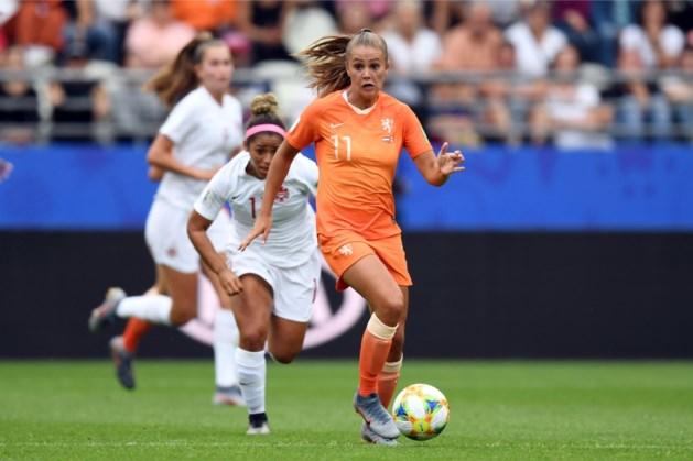 Oranje met Lieke Martens tegen Italië