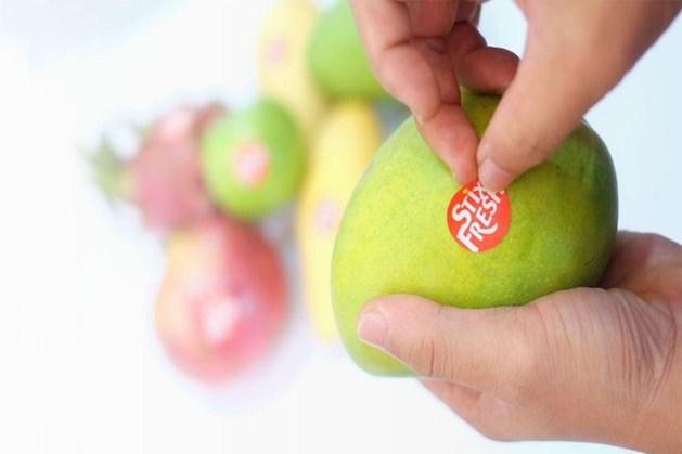Stickertje houdt fruit twee weken langer vers