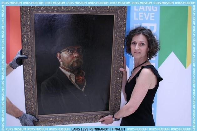 'Rembrandt'-portret van kunstenaar Laura Caris uit Weert te zien in Rijksmuseum