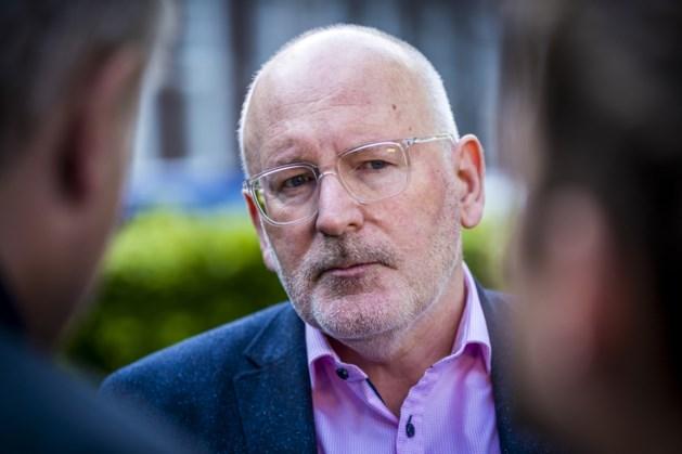 Frans Timmermans wordt geen voorzitter van Europese Commissie