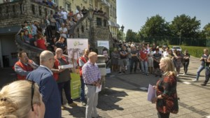 Protesten tegen sluiting Keerpunt Cadier en Keer