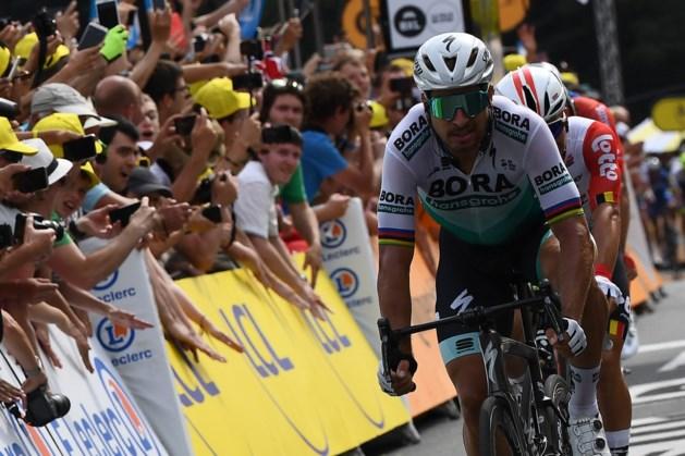 Sagan: 'Aarzelde met mijn timing voor de sprint'