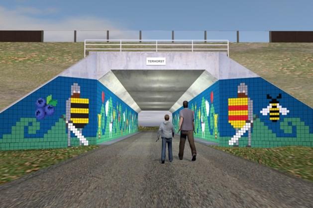 Viaduct Kasteellaan Horst wordt kunstobject