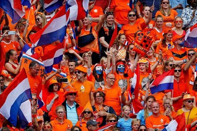 WK-finale is zondagmiddag ook op veel festivals te zien
