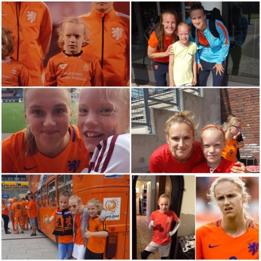 De leukste selfies met de Oranje Leeuwinnen