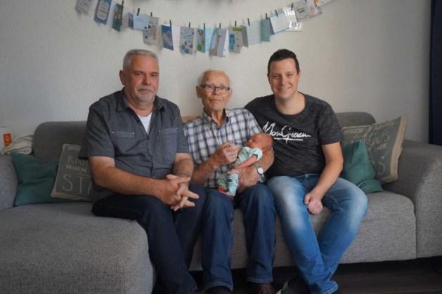 Vier generaties familie Derks