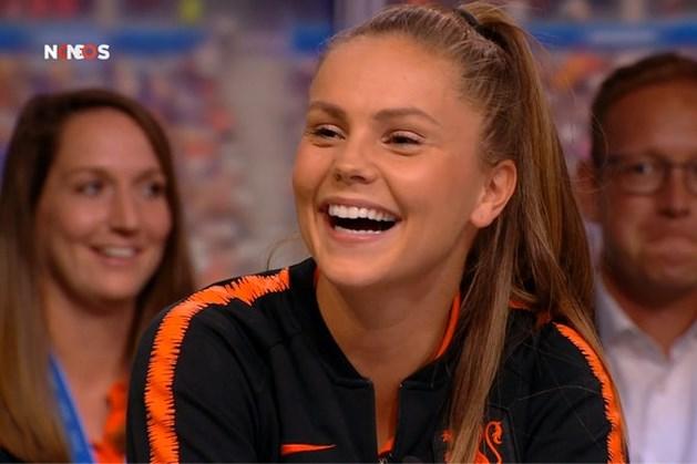 1,6 miljoen kijkers zien Lieke Martens zwijgen over 'de teen'