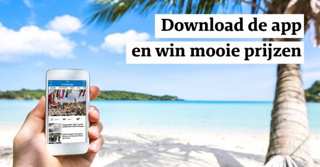 Download onze nieuwsapp en win zomerse prijzen