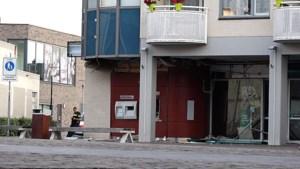 Veel schade na plofkraak bij bank in Landgraaf, winkelcentrum deels gesloten