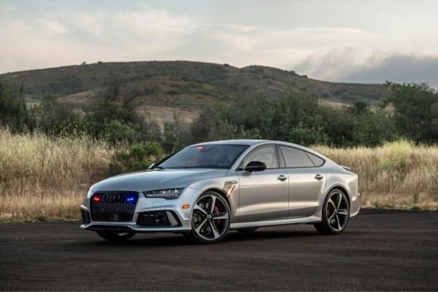 Deze gepantserde Audi RS7 is sneller dan een kogel