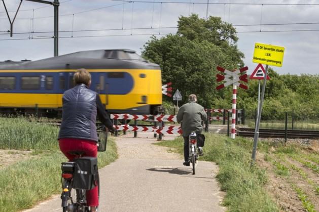 Drie onbewaakte spoorwegovergangen in Limburg op slot