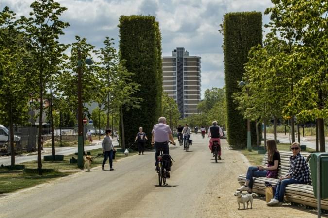 De Groene Loper in Maastricht: flaneren bovenop de autosnelweg