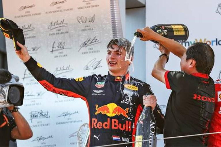 Verstappen: 'Silverstone is écht een Mercedes-baan'