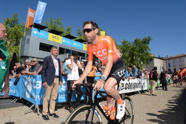 Ten Dam na harde val uit Ronde van Oostenrijk
