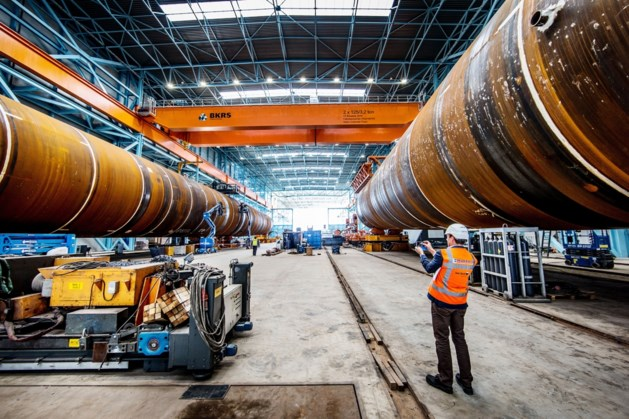 Sif maakt meer funderingspalen voor Nederlands windpark Vattenfall