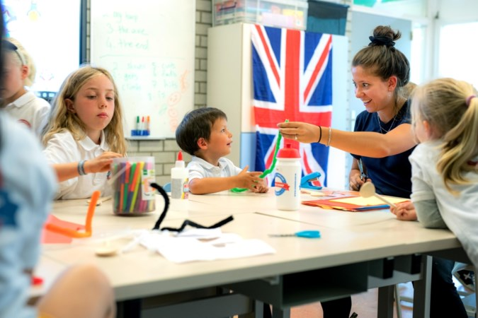 Extra weekje Engelse les voor kinderen op Maastrichtse basisschool OBS Binnenstad