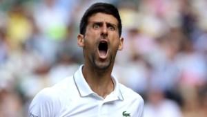 Djokovic voor zesde keer naar finale Wimbledon