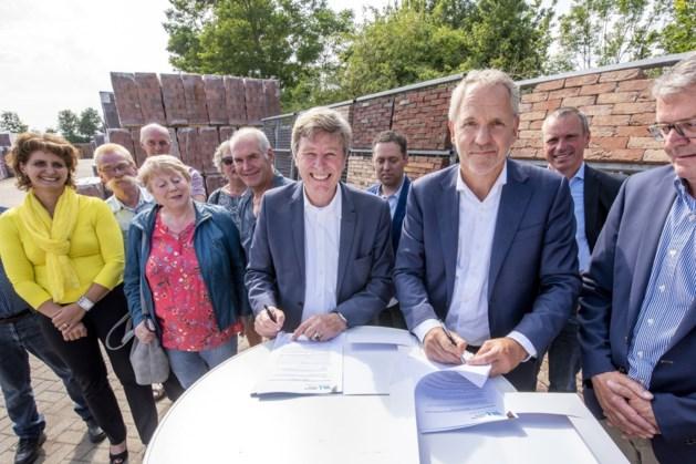 Alternatief dijkplan bij Nieuw Bergen beschermt meer woningen bij hoogwater