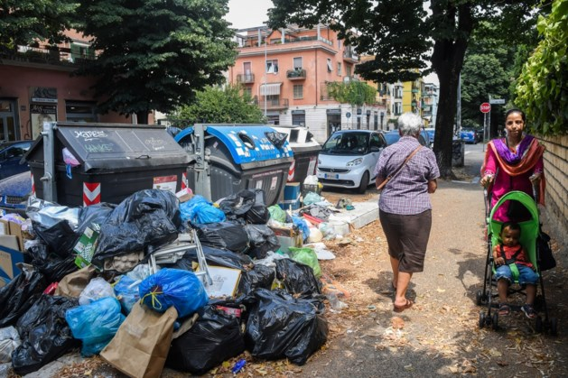 Rome worstelt met stinkend afval
