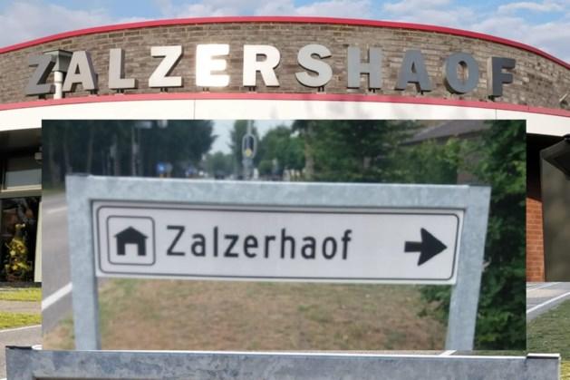 Weer fout verwijzingsbord gemeenschapshuis Hout-Blerick