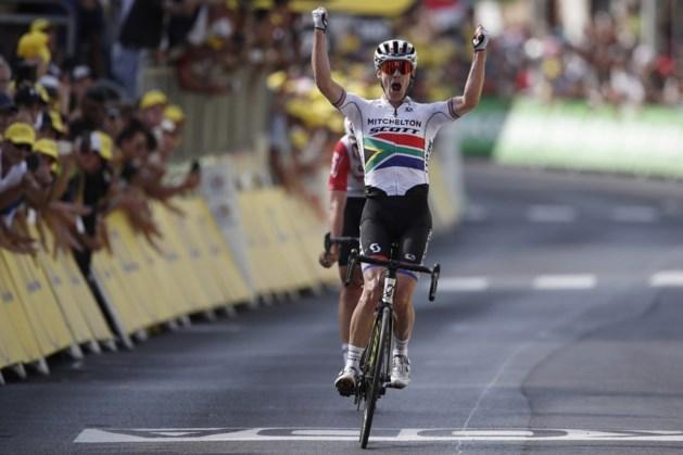 Impey pakt ritzege in Tour de France, Alaphilippe behoudt gele trui