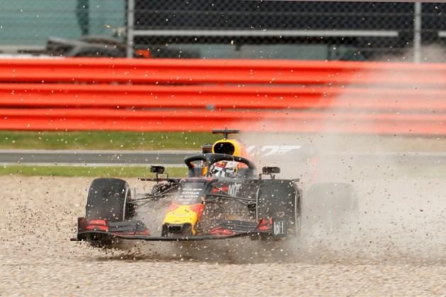 Max Verstappen mist podiumplek door onbesuisde actie van Vettel
