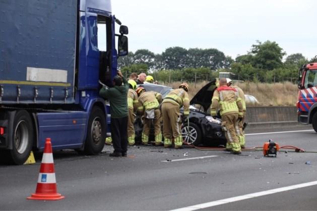 Ongeluk A73: gezin raakt gewond, vrachtwagenchauffeur verhoord