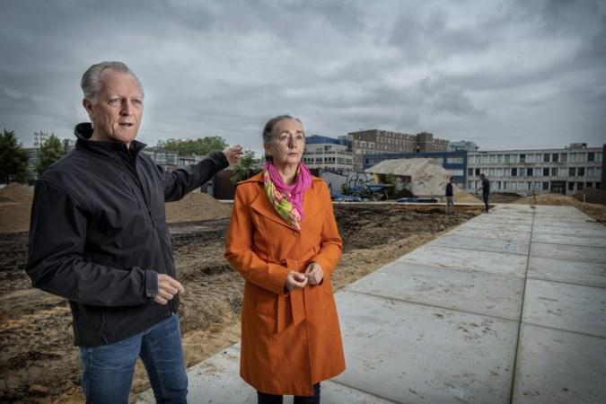Inwoners van Heerlen beginnen stadstuin op plek van gesloopt winkelcentrum De Plu