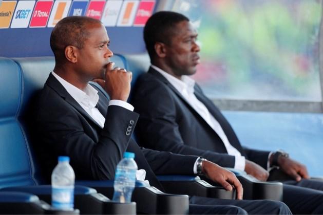 Seedorf en Kluivert ontslagen bij Kameroen