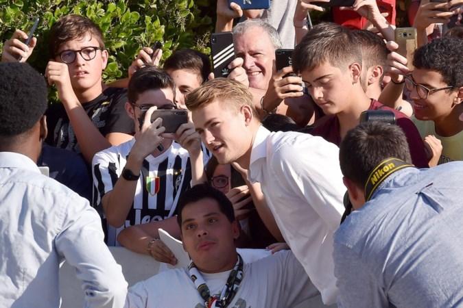 'Golden Boy' Matthijs de Ligt aanbeden in Turijn