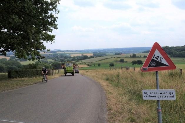 Caravans mogen niet meer over de steile Bergweg in Gulpen