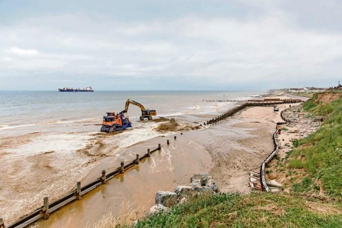 Brits broertje Nederlandse zandmotor beschermt kust