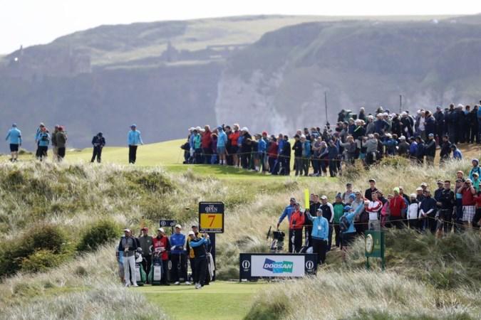 Golftoernooi The Open terug in Noord-Ierland: een plek met politieke en historische lading