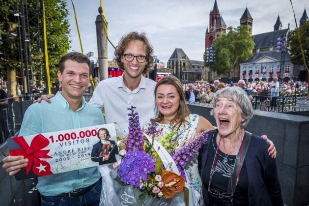Eindhovense miljoenste Rieu-bezoeker