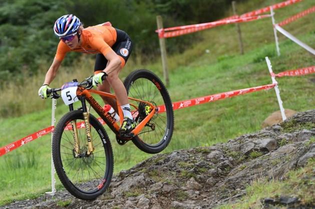 Tauber Nederlands kampioen mountainbiken