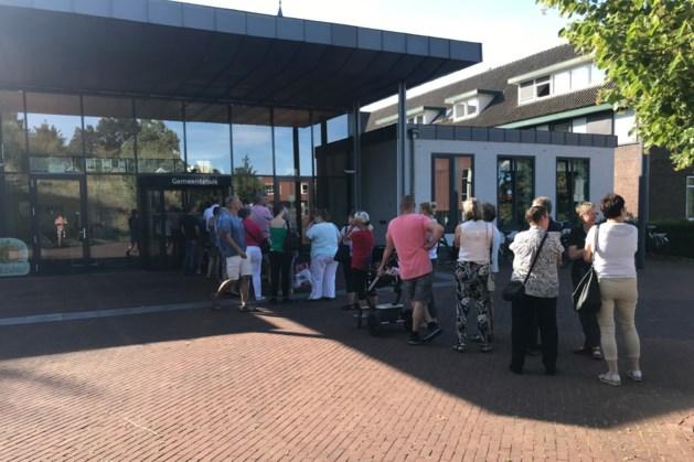 Run op gratis regenton in Gulpen-Wittem, veel bewoners komen voor niets