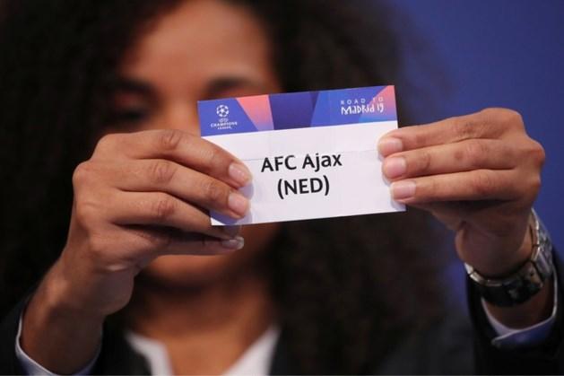 Ajax treft PAOK in derde voorronde, PSV mogelijk tegen LASK
