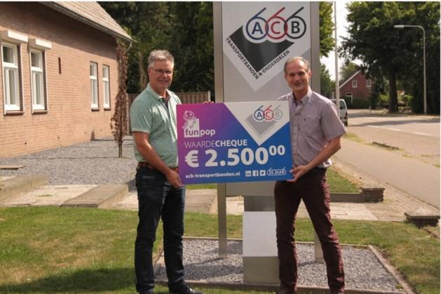 Jubilerende ACB Group doneert 2500 euro aan Funpop