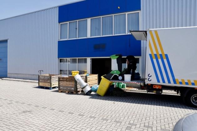 Hennepkwekerij in bedrijfspand in Heijen; een aanhouding