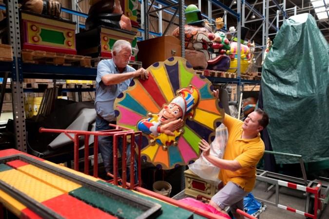 Maastrichtse Tempeleers hartje zomer volop bezig met carnaval