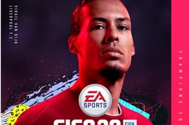 Virgil van Dijk siert de cover van FIFA 20