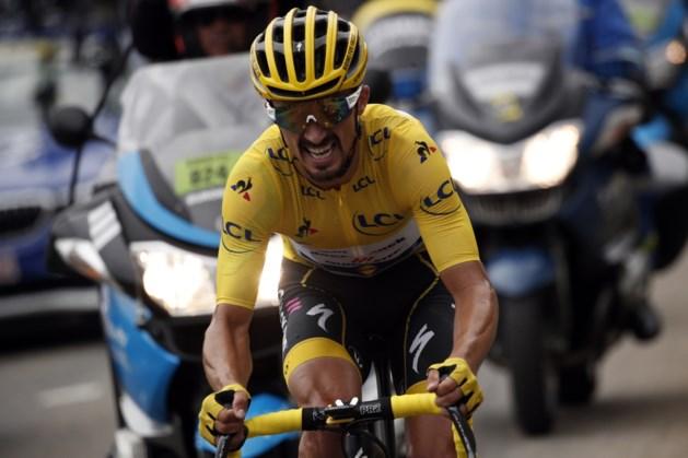 Alaphilippe strijdlustigste renner van Tour de France