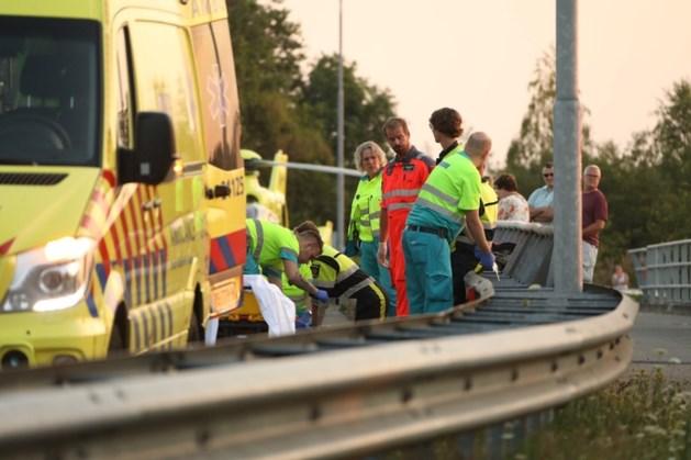 Motorrijder verongelukt in Uden
