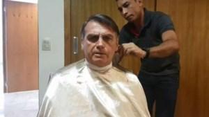 Braziliaanse president zegt Franse minister af voor kapper