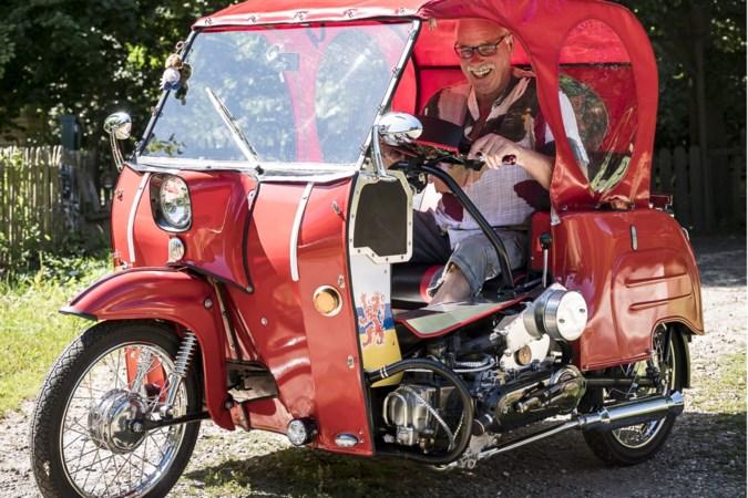 Duitse Limbo scheurt in een DDR-karretje door Posterholt