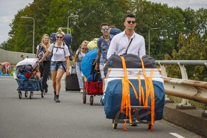 Klaar voor lang festivalweekend: 'De camping máákt Solar'