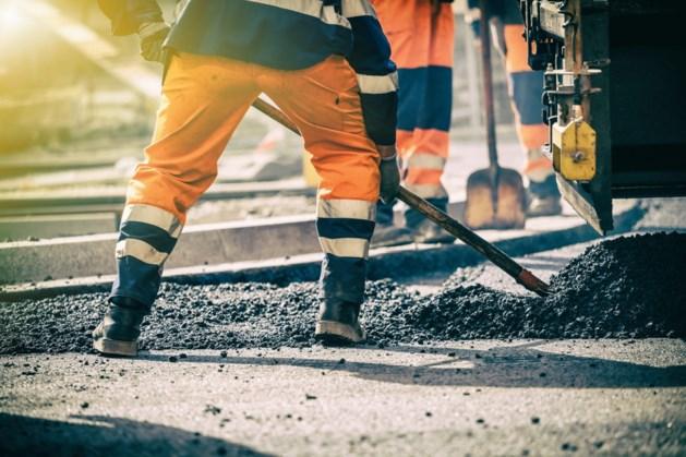 Weer hele dag forse verkeershinder door werkzaamheden in België