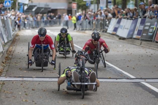 'Max Verstappen van het handbiken' wint voor eigen publiek in Heerlen