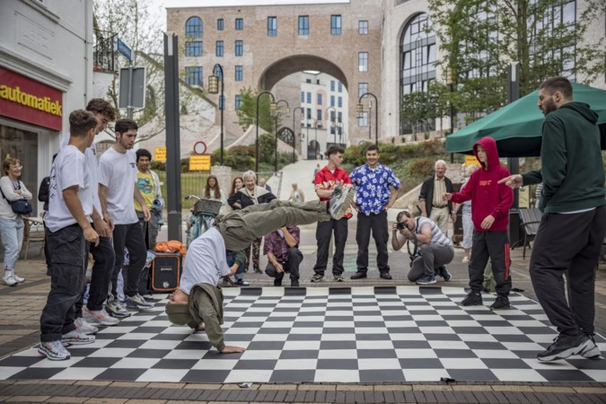 Breakdancers van Heerlen Fucking City bereiden stad voor op komst Notorious IBE