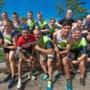 Team Van Ganser Harte viert elke training uitbundig